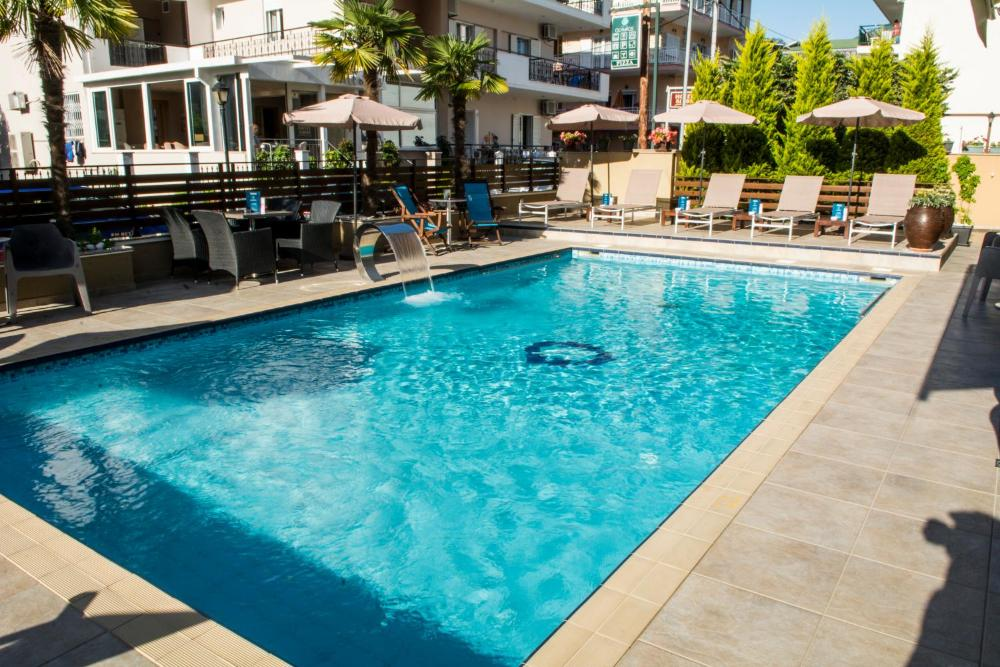 Olympos Suites pool
