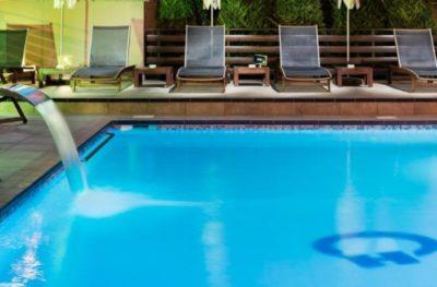 Olympos Suites pool